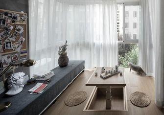 经济型100平米三室一厅现代简约风格阳台装修效果图