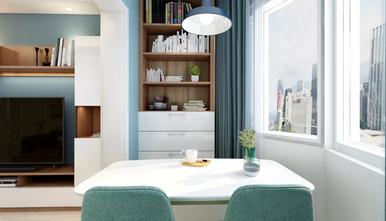 经济型50平米一居室北欧风格餐厅装修图片大全