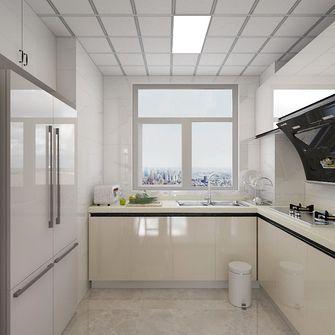3万以下110平米三室两厅现代简约风格厨房装修案例