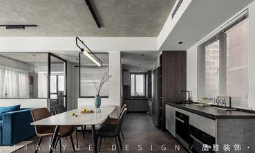 10-15万140平米四室两厅工业风风格餐厅设计图
