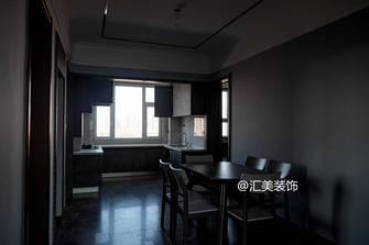 富裕型130平米四室两厅现代简约风格餐厅装修图片大全