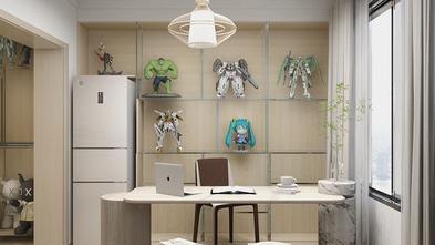 经济型60平米日式风格书房装修案例