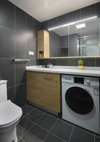 3-5万70平米公寓北欧风格卫生间装修效果图