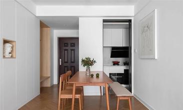 富裕型90平米三室三厅北欧风格餐厅图