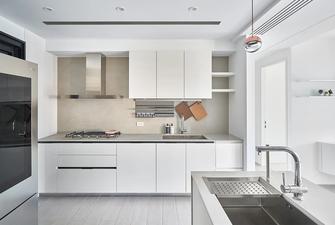 富裕型100平米三室三厅现代简约风格厨房设计图
