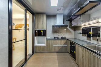 10-15万130平米三工业风风格厨房装修效果图
