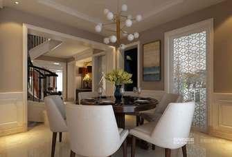 豪华型140平米欧式风格餐厅图