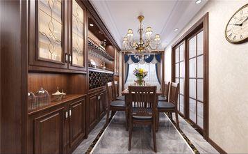 富裕型120平米三室两厅美式风格餐厅图片大全