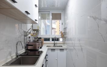 10-15万100平米三室两厅现代简约风格厨房装修图片大全