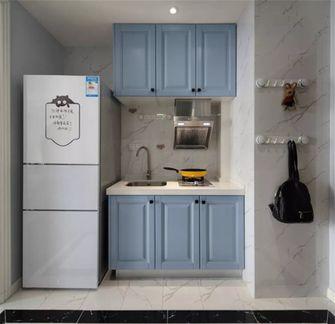 5-10万50平米一室一厅现代简约风格厨房图片大全