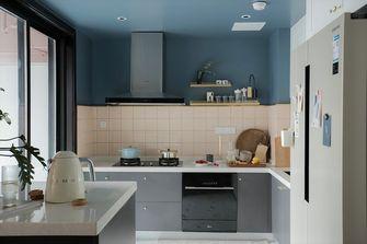 90平米三室一厅新古典风格厨房装修图片大全