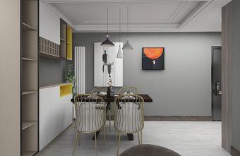 5-10万一室一厅现代简约风格餐厅设计图