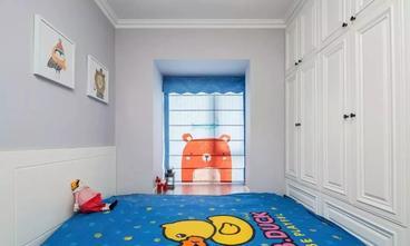 富裕型120平米三室两厅美式风格青少年房欣赏图