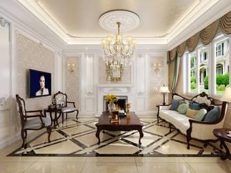 20万以上140平米别墅欧式风格客厅装修图片大全
