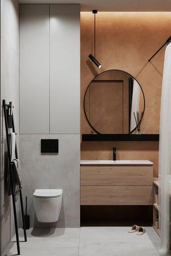 3-5万50平米小户型现代简约风格卫生间装修案例