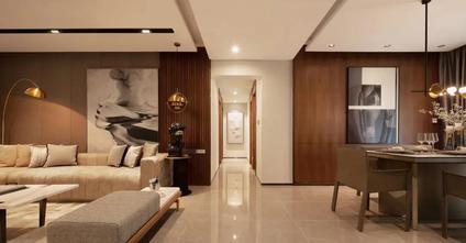 20万以上140平米四室两厅中式风格客厅设计图