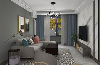 经济型一室一厅现代简约风格客厅装修案例