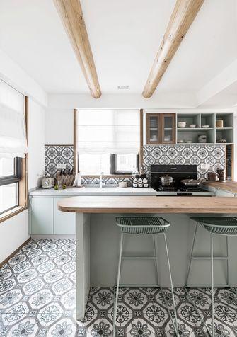 豪华型140平米三室两厅混搭风格厨房图