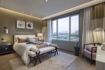 140平米别墅港式风格卧室装修案例