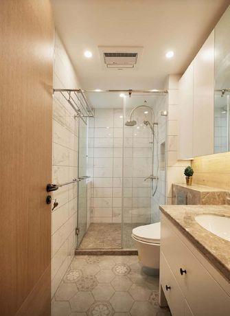 10-15万100平米三室两厅日式风格卫生间欣赏图
