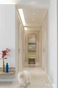 富裕型100平米三室两厅北欧风格走廊图片