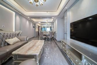 富裕型100平米四室两厅欧式风格客厅图片大全