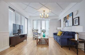 120平米三室两厅欧式风格客厅欣赏图