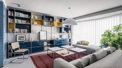 豪华型140平米四室三厅现代简约风格客厅图
