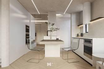 60平米公寓现代简约风格餐厅欣赏图