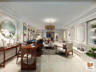 豪华型140平米三室两厅混搭风格书房装修图片大全