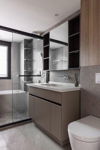富裕型140平米三室三厅现代简约风格卫生间设计图