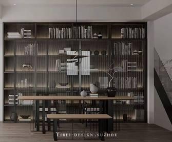 5-10万140平米现代简约风格书房装修案例