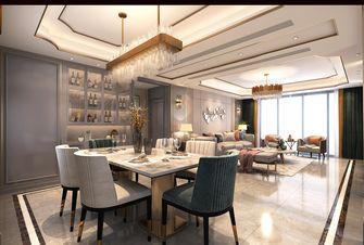 140平米四轻奢风格餐厅设计图