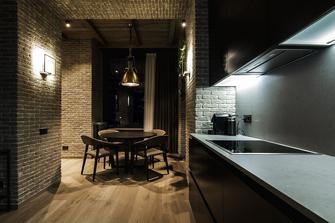15-20万80平米一室一厅工业风风格厨房装修效果图