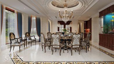20万以上140平米别墅欧式风格餐厅欣赏图