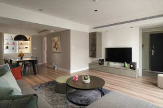 5-10万50平米小户型北欧风格客厅设计图