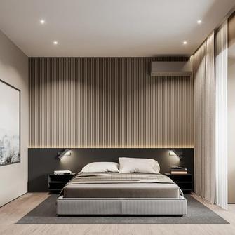 20万以上140平米复式轻奢风格卧室欣赏图