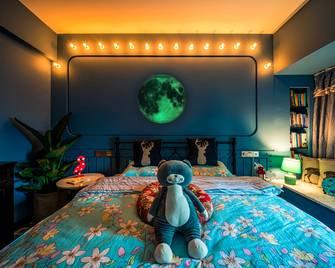 50平米混搭风格卧室图片