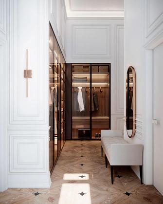 120平米三室两厅法式风格衣帽间图片