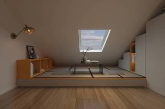 5-10万90平米欧式风格阁楼设计图