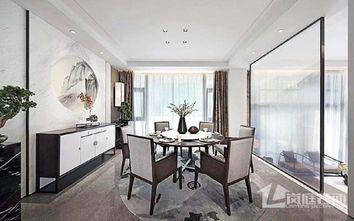 豪华型140平米中式风格餐厅图片大全
