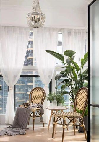120平米三室两厅法式风格阳台图片
