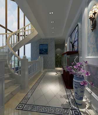 豪华型140平米别墅中式风格楼梯间效果图