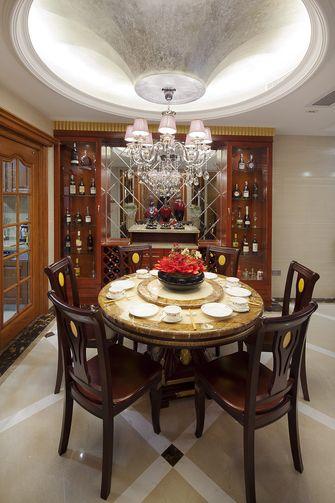 豪华型140平米四新古典风格餐厅设计图