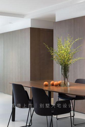 15-20万140平米四现代简约风格餐厅图