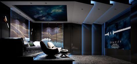 豪华型140平米别墅新古典风格影音室图片大全