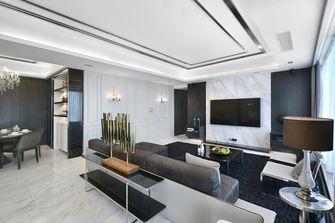 富裕型140平米英伦风格客厅装修效果图