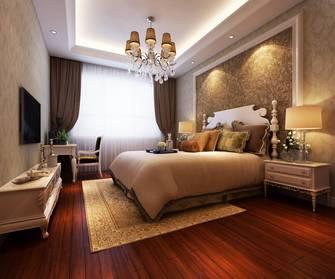 20万以上140平米别墅欧式风格卧室效果图