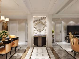 富裕型140平米三室两厅美式风格玄关设计图