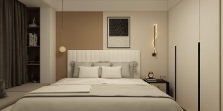 5-10万80平米北欧风格卧室设计图